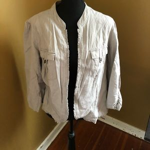 Maurices Size 1X Linen Jacket